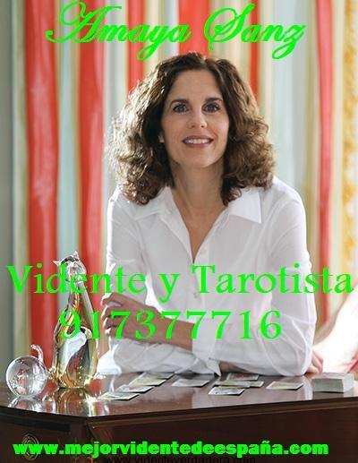 Vidente y tarotista Amaya Sanz